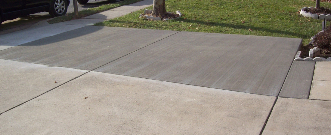 Traditional and Standard Concrete Driveway Annapolis Maryland