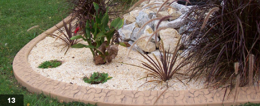 Decorative Landscape Border Oasis