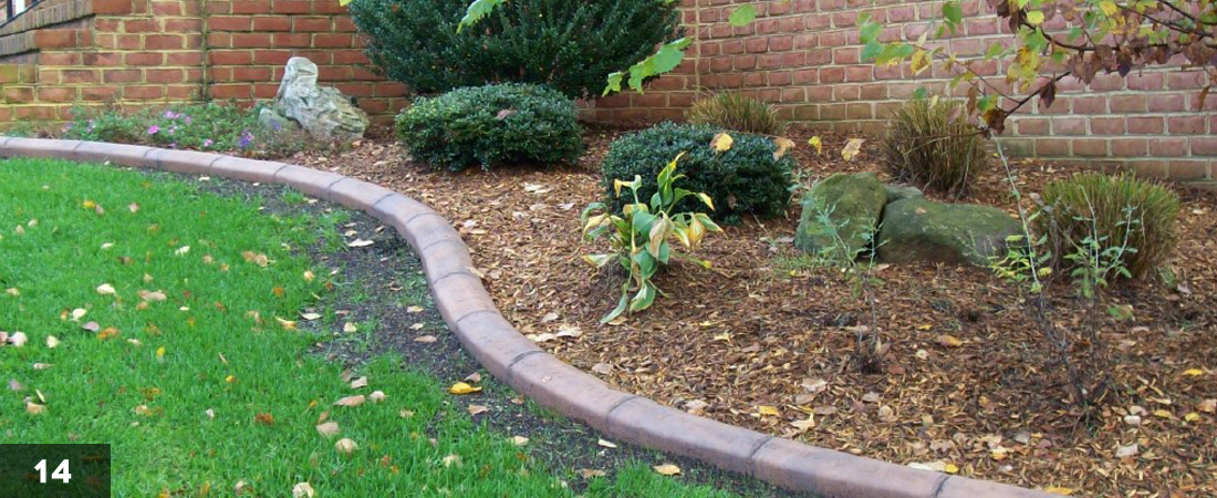 Decorative Landscape Border Garden