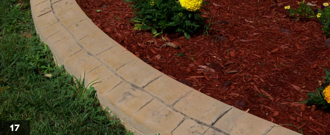 Mulch Decorative Landscape Border