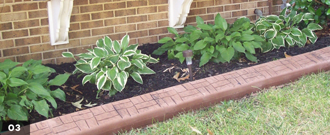 Decorative Home Landscape Border
