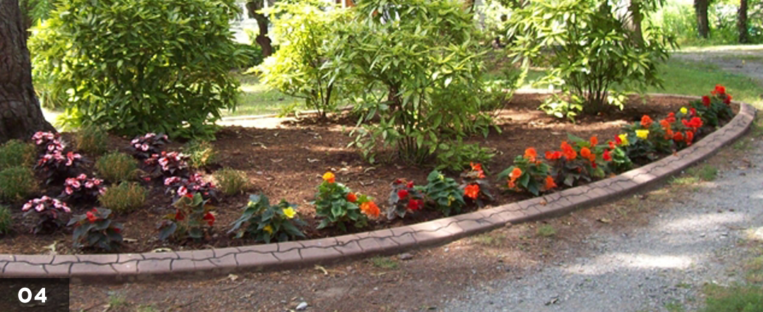 Beautiful Decorative Landscape Border