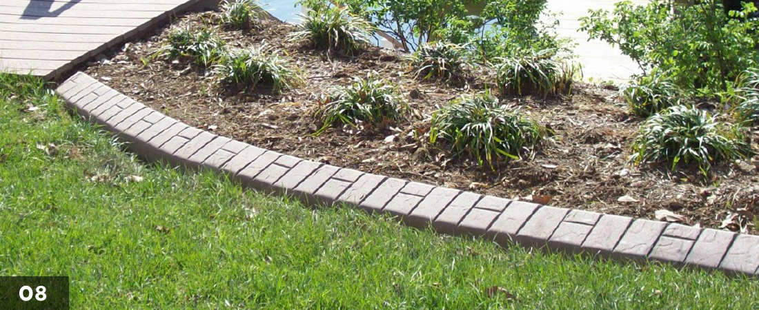 Decorative Landscape Border Water Edge