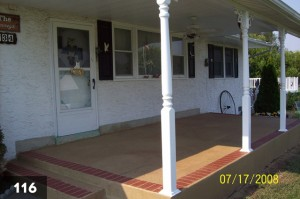 Resurfacing front porch-116