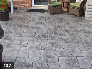 Stamped Concrete porch-137