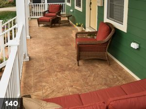 Stamped Concrete front porch-140