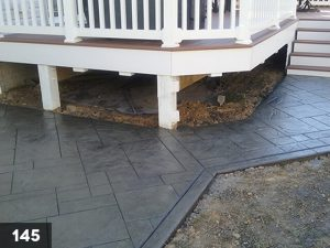 Stamped Concrete back porch-145