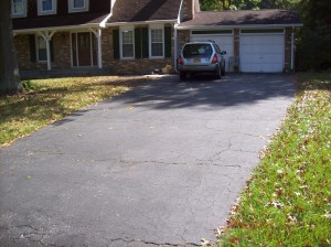 Driveway Repair Before