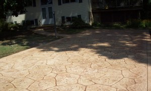 Cape St. Claire Driveway Replacement after
