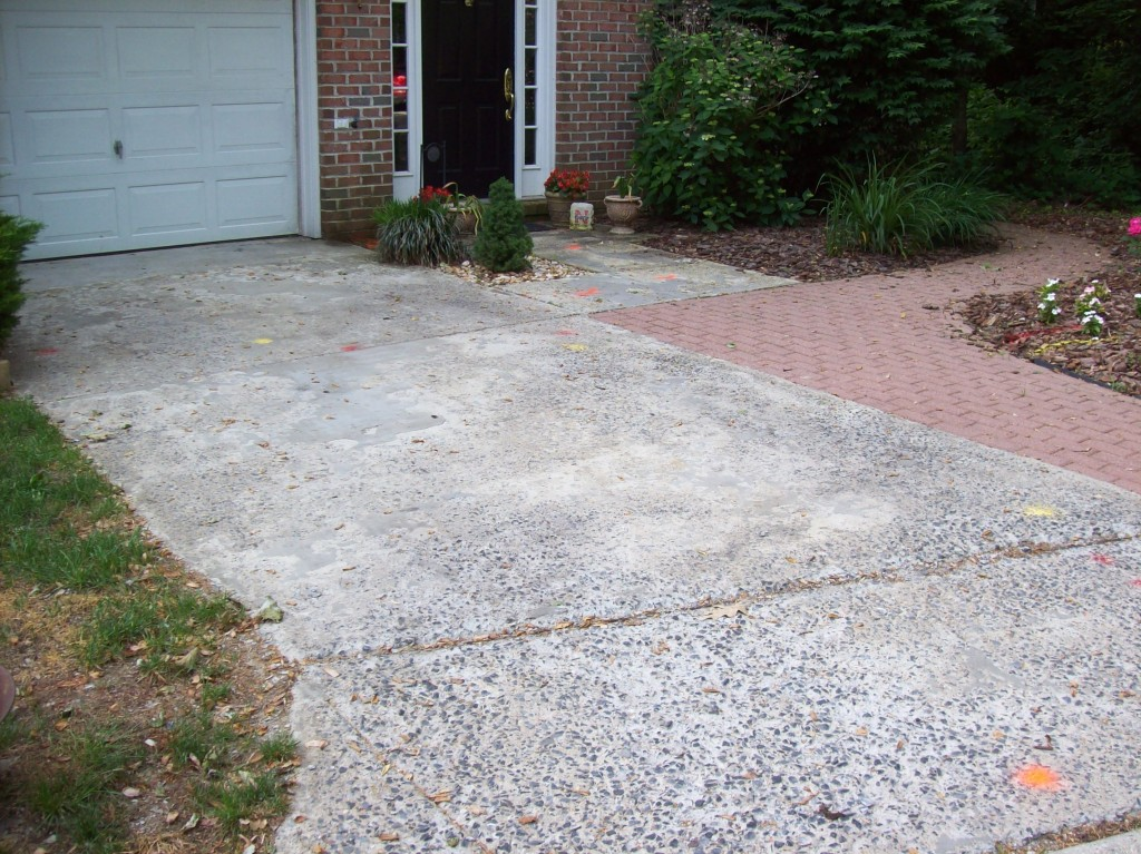 Annapolis Townhouse Driveway