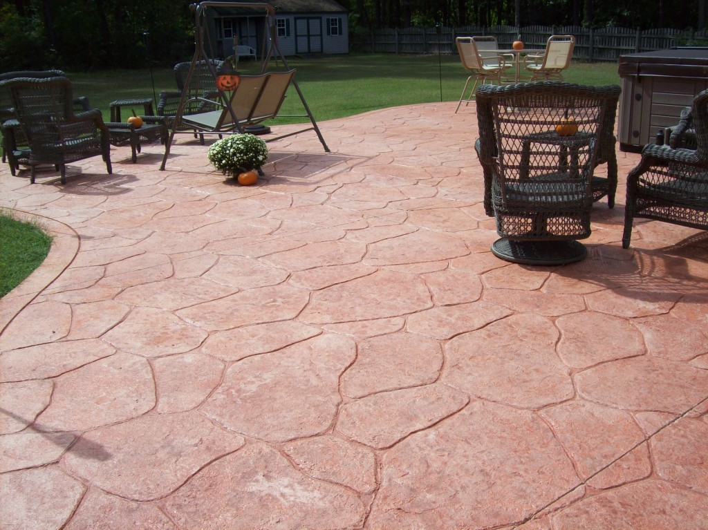 Pasadena Stamped Concrete Patio