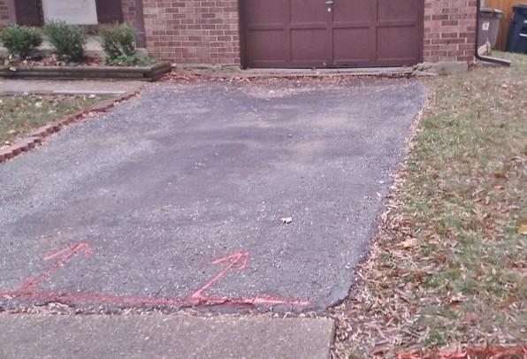 Bowie driveway repair