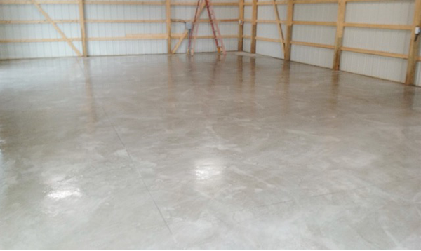workshop flooring Severn Maryland after