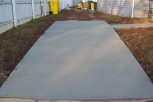 Glen Burnie Rental Property Driveway after