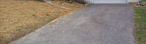 Stamped Concrete Driveway in Gambrills