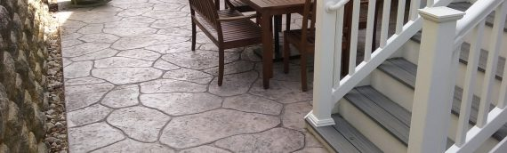 Concrete Outdoor Improvements that complement the Annapolis Home Style