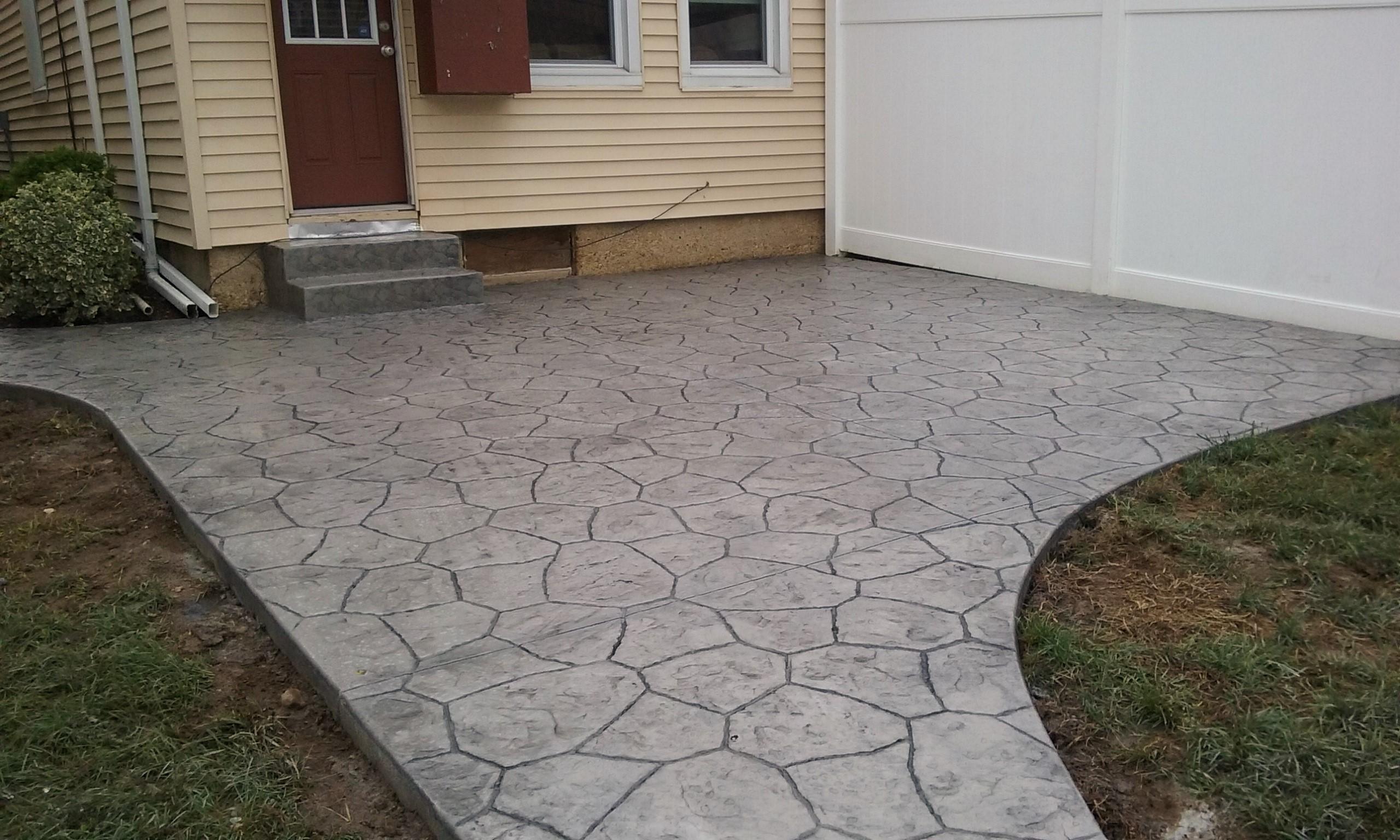 After Baltimore Concrete Patio