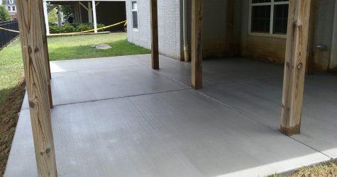 brushed concrete annapolis