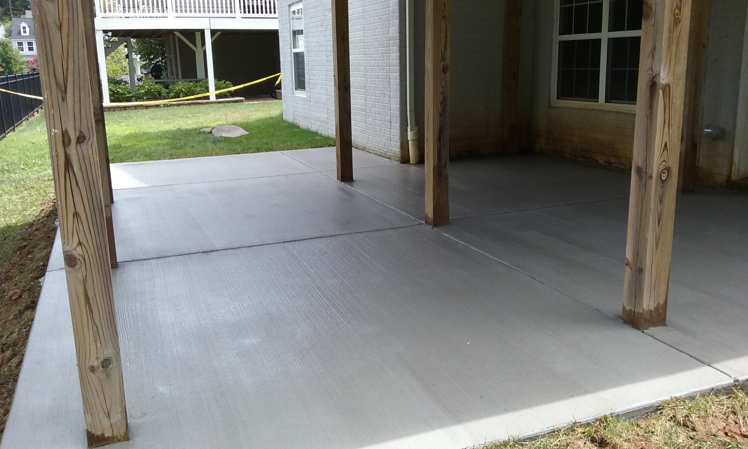 brushed concrete annapolis
