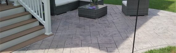Ashler Slate Custom Patio
