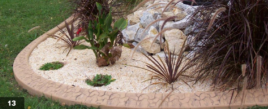 Decorative Landscape Border Oasis