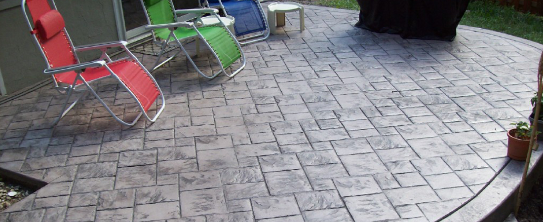 Maryland Curbscape Stamped Concrete