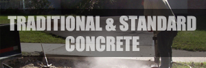 Traditional and Standard Concrete