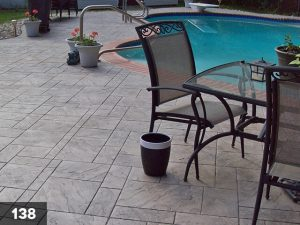 Stamped Concrete pool deck-138