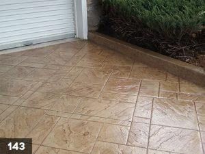 Stamped Concrete driveway-143