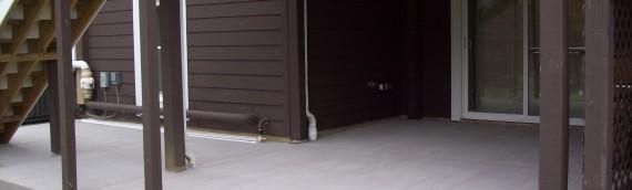 Annapolis Concrete Patio Installation