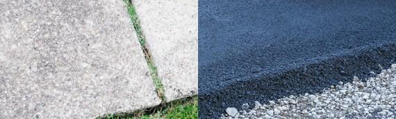 Concrete vs. Asphalt