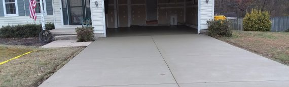Concrete Slabs: So The Garage Door Settles The Right Way